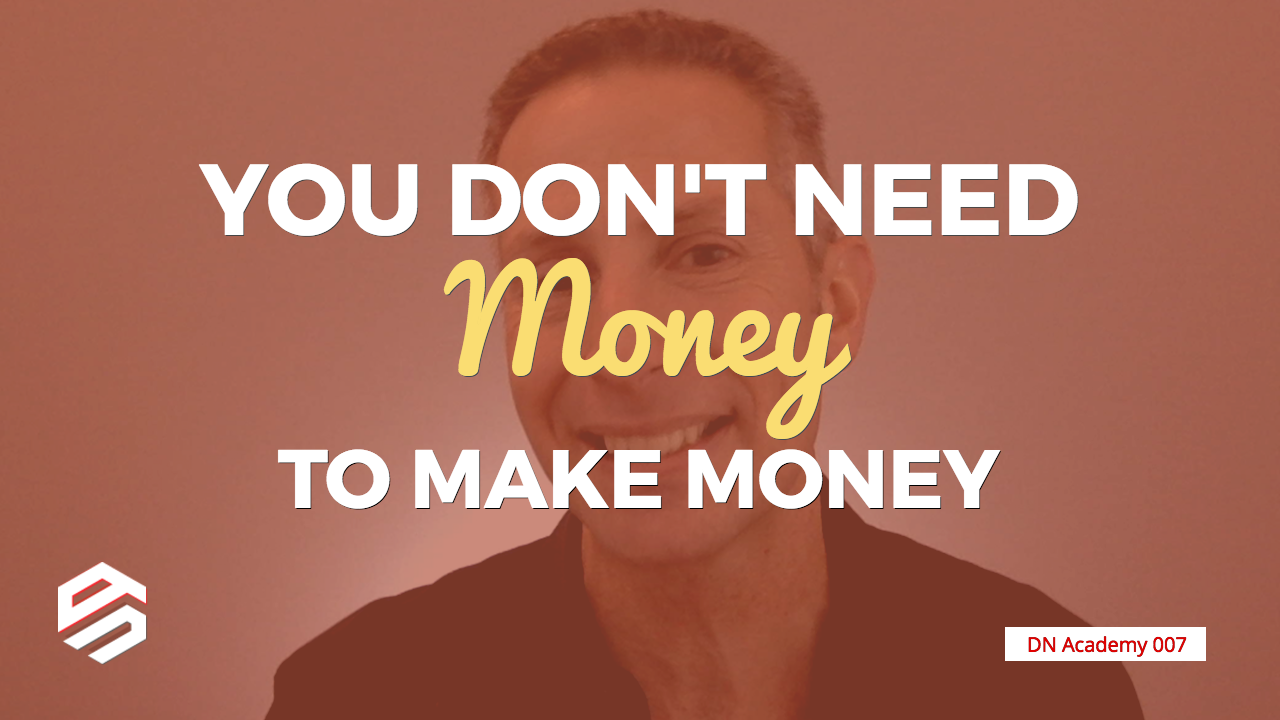 You Don't Need Money to Make Money in Domain Name Investing