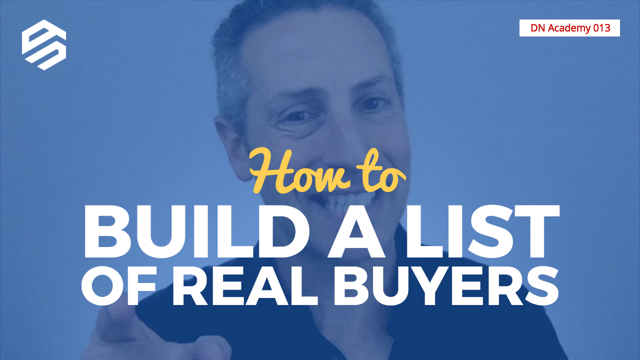 Build a List of Real Buyers