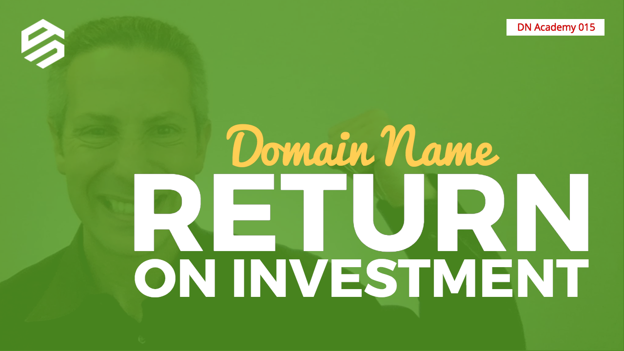 Domain Name Return on Investment