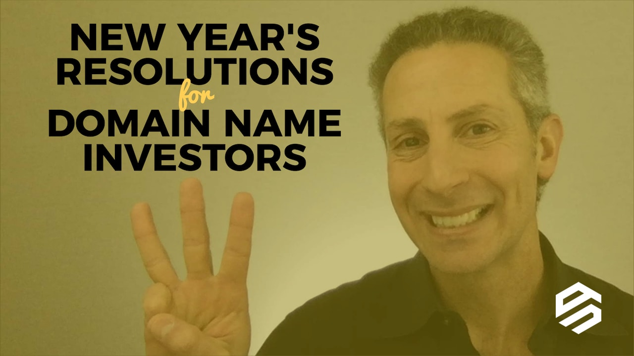 New Years Resolutions for Domain Name Investors