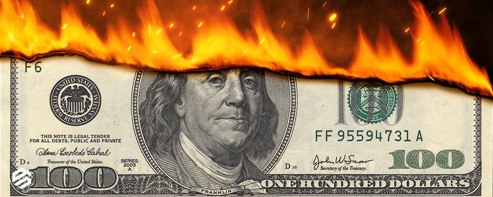 Burning Money at Network Solutions