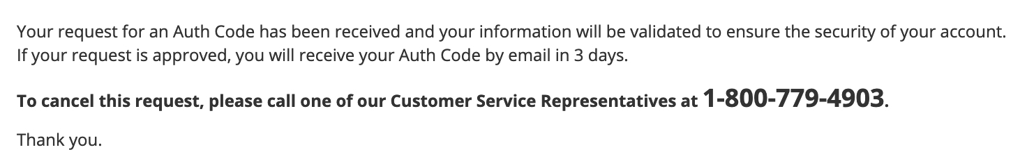 Network Solutions Confirmation