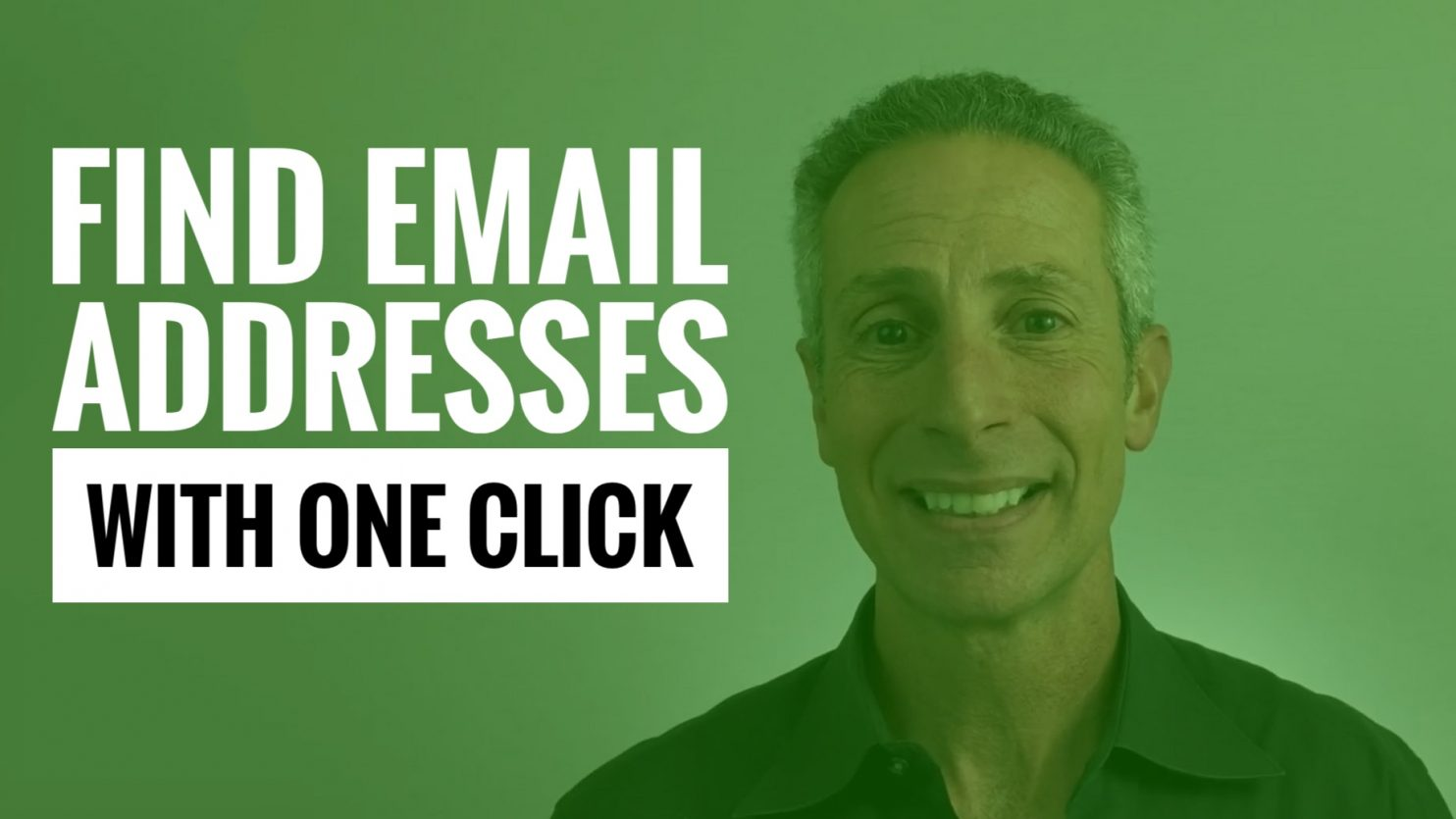 Easily Find Email Addresses with One Click