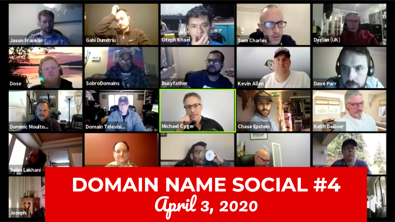 Michael Cyger's Domain Name Quarantine Social #4