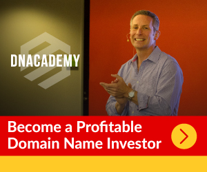 We proudly support and recommend DNAcademy to learn domain name investing.