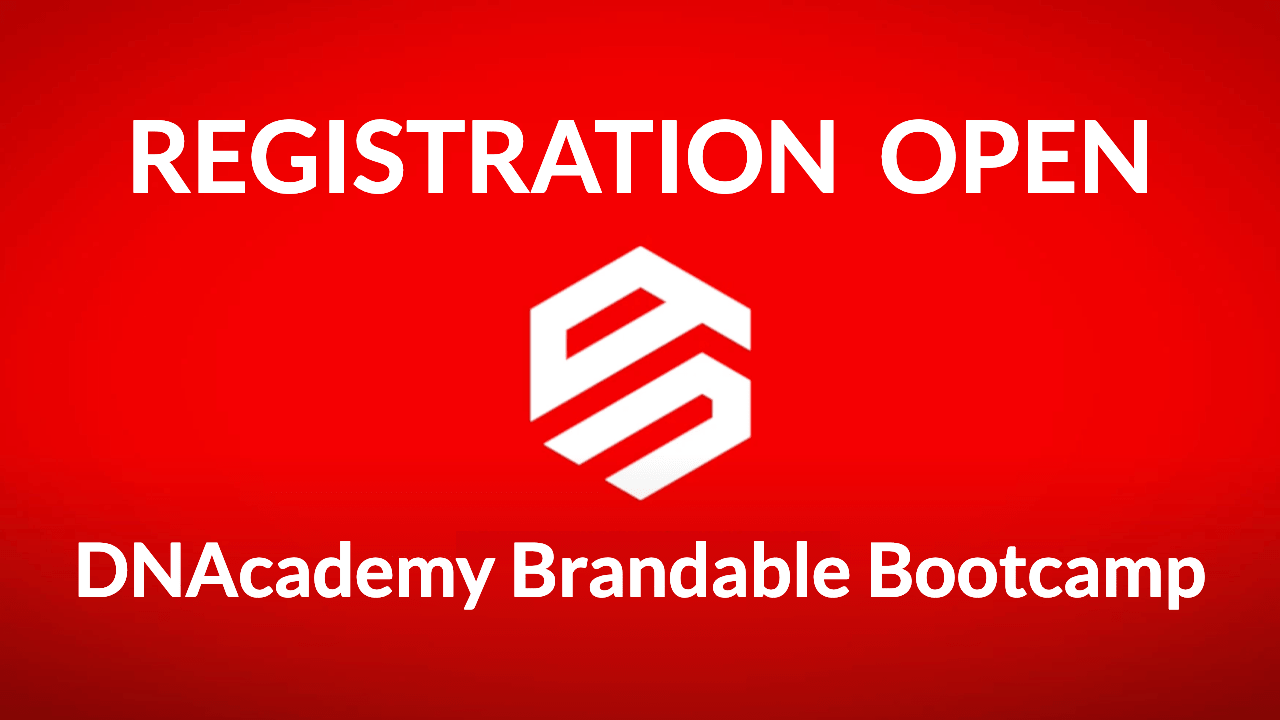 DNAcademy Brandable Bootcamp